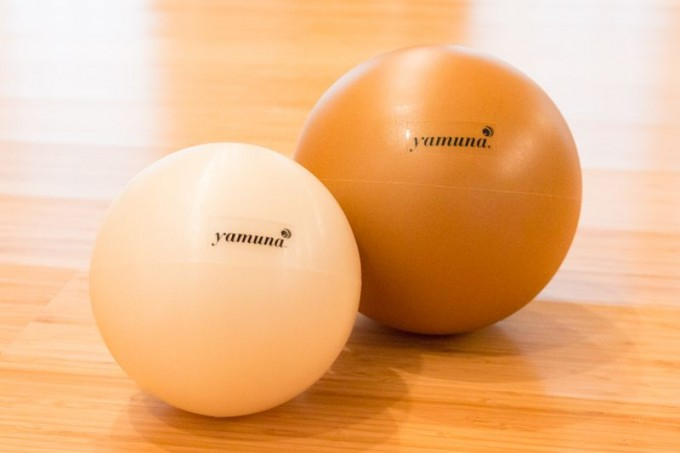 ヤムナボールの種類は、部位やからだの状態によって使い分けられています。