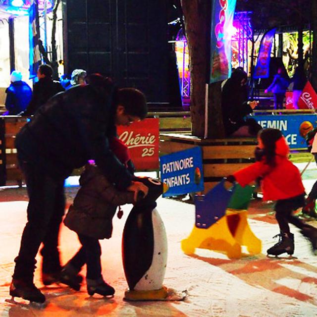 パリの街中で冬スポーツ。シャンゼリゼ通りでスケートをしてみた