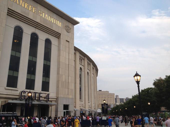 昨夏マンチェスター・シティの親善試合が行われるなど、サッカーの開催実績も多くあるヤンキースタジアム