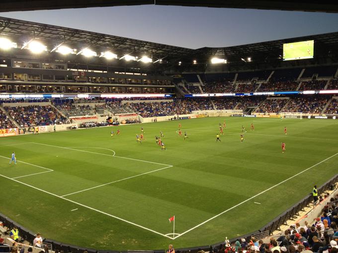 レッドブルズはお隣・ニュージャージー州にホームスタジアムを構える