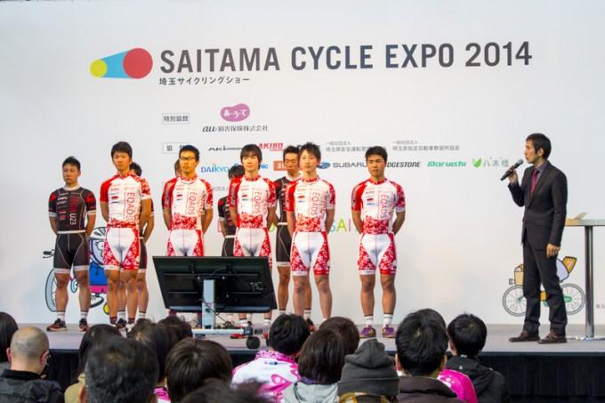 埼玉を拠点とする自転車ロードレースチーム「エキップアサダ」の選手紹介