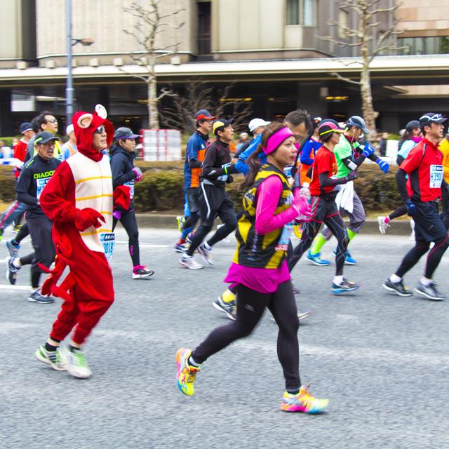 走らなくたって楽しい! ランナーじゃないけど東京マラソン2014に行ってみた