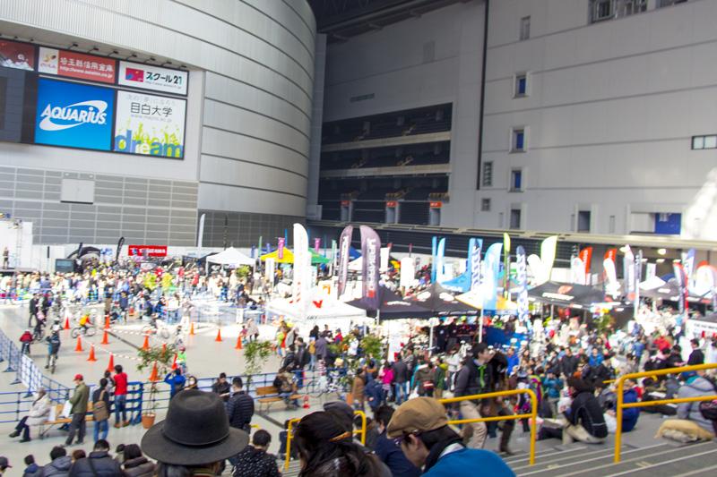 一家で楽しむサイクルフェスティバル「埼玉サイクルエキスポ2014」