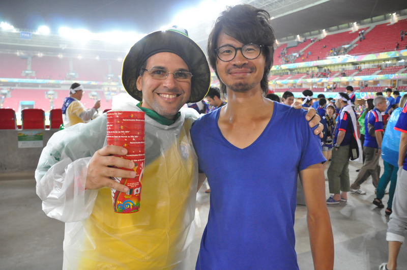 【W杯現地レポート】世界のサッカーファンから見た 日本対コートジボワール
