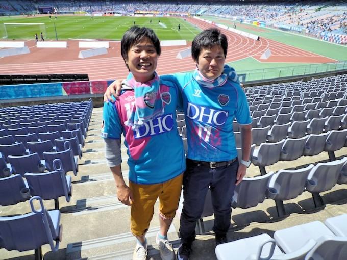 サガンティーノの町田さん(左)と新田さん(右)