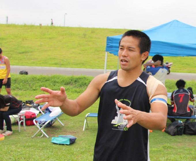 オーストラリアのプロリーグでの活躍経験もある日本代表副キャプテン榊選手