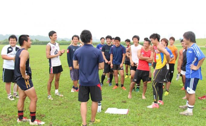 日本代表28名には、野球・バスケ・陸上・バレーボールなど様々なスポーツ出身者が顔を揃える