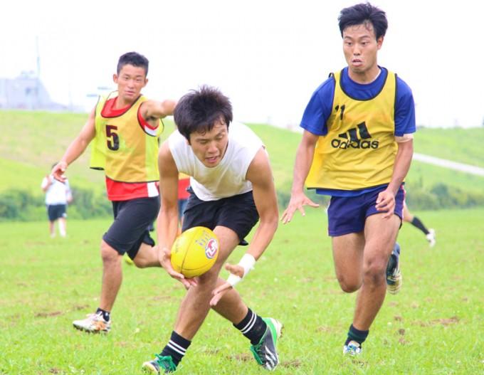 この日の練習でも走って素早くボールを繫ぐプレーが多く見られた