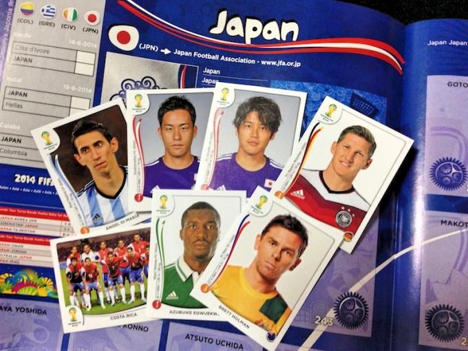 日本代表のページもしっかりある