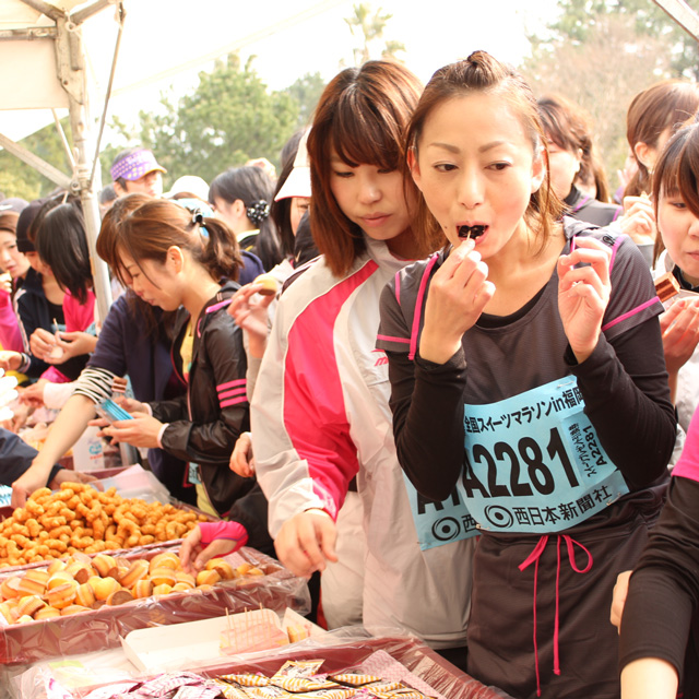 走り納めは自分へのごほうびで 『スイーツマラソンin大阪』がエントリー受付中