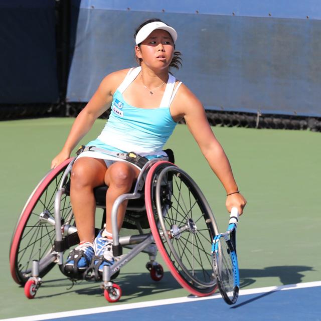 上地結衣 全米オープン車いすテニス女子シングルス・ダブルスで優勝