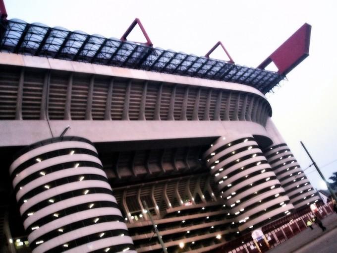 ミランとインテルのホームスタジアムとして使用されるサン・シーロ