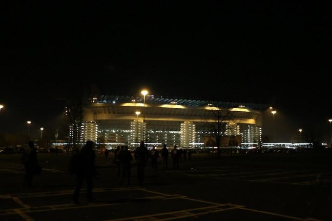 ACミランのホームスタジアムであるサン・シーロ