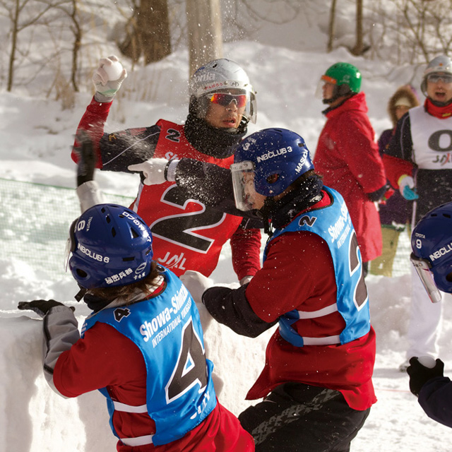 雪合戦から「YUKIGASSEN」へ。スポーツ雪合戦世界大会が今年も開催