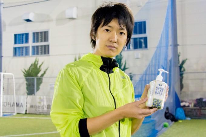主催者の澤田智洋さん。バブルサッカー協会の会長を勤めるなど、ユニークなスポーツが楽しめる企画を数多く手がけています