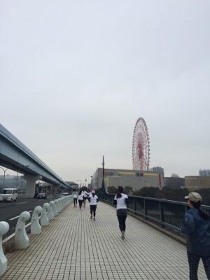 私は10kmに挑戦!
