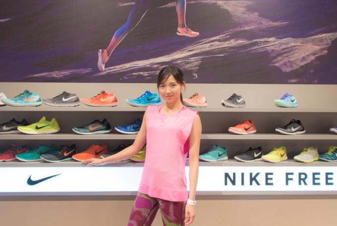 普段からNIKEのプロダクトを愛用しているという遠藤千夏さん