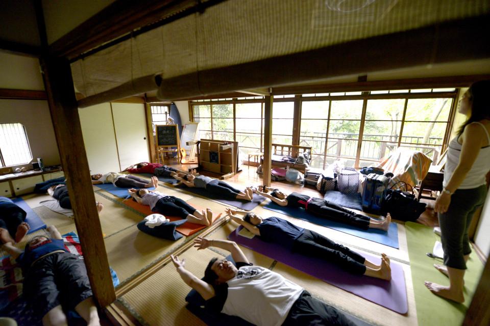 鎌倉の風情ある古民家でヨガイベント!心と体を使って自分と向き合う時間