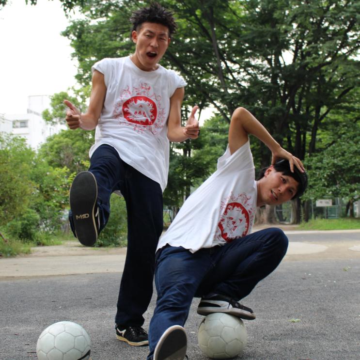フリースタイルフットボール日本チャンピオン「ALEG-Re」が 世界を魅了する!