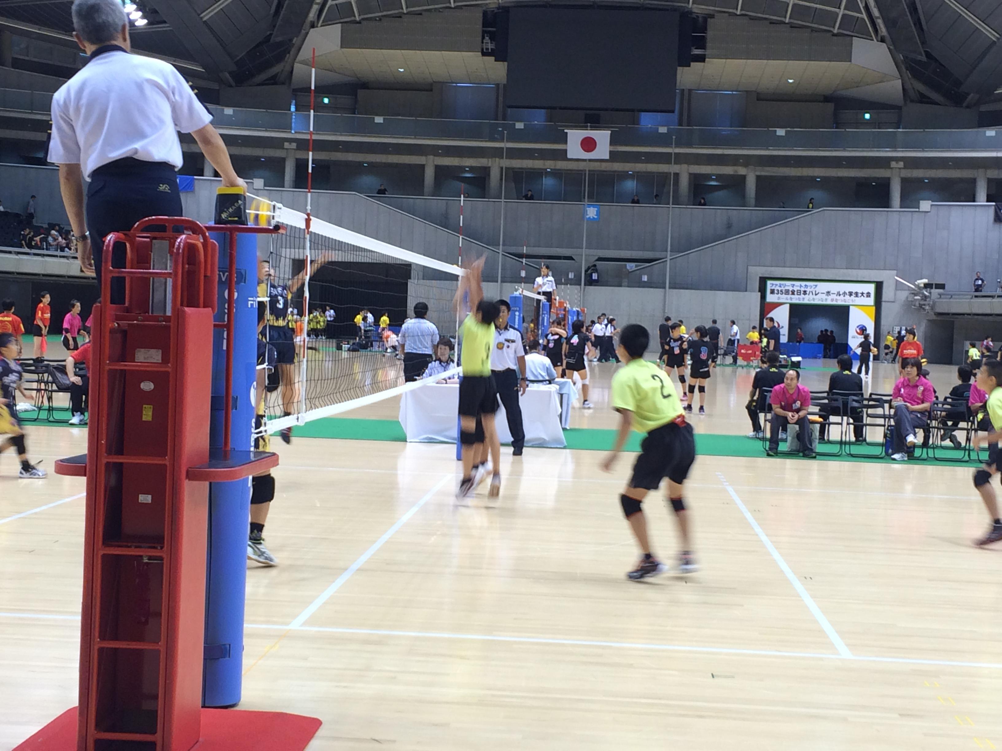 目標は全日本選手!バレーボール小学生大会