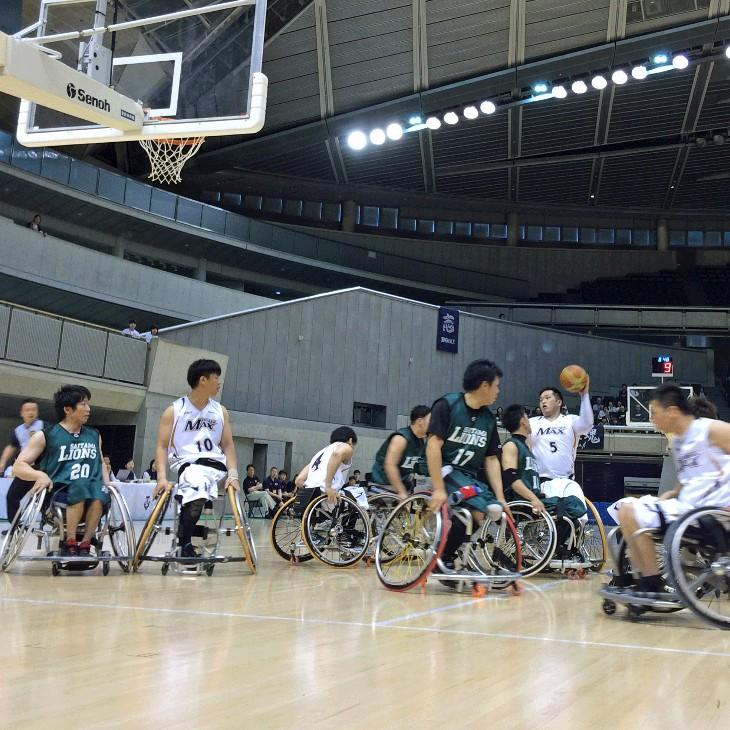 漫画『リアル』の世界をリアルに体験!車椅子バスケを観にいこう!