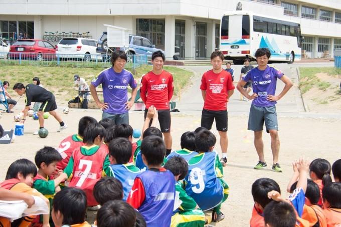 2015JPFAサッカースクール in 南三陸 2015年6月14日(日)