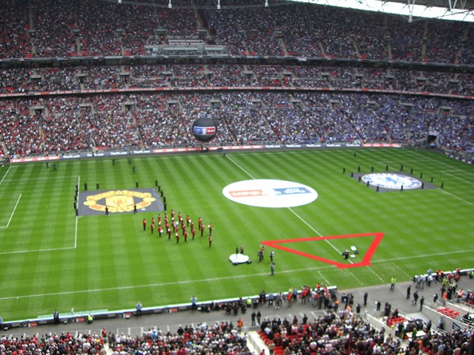 2006-07シーズンの決勝は、モウリーニョ監督のチェルシーがマンチェスター・ユナイテッドを撃破(PHOTO by Oyvind Vik)