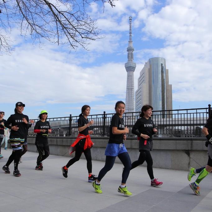 Nike+ Run Club体験レポ ロングランで東京・ソラマチを走る!