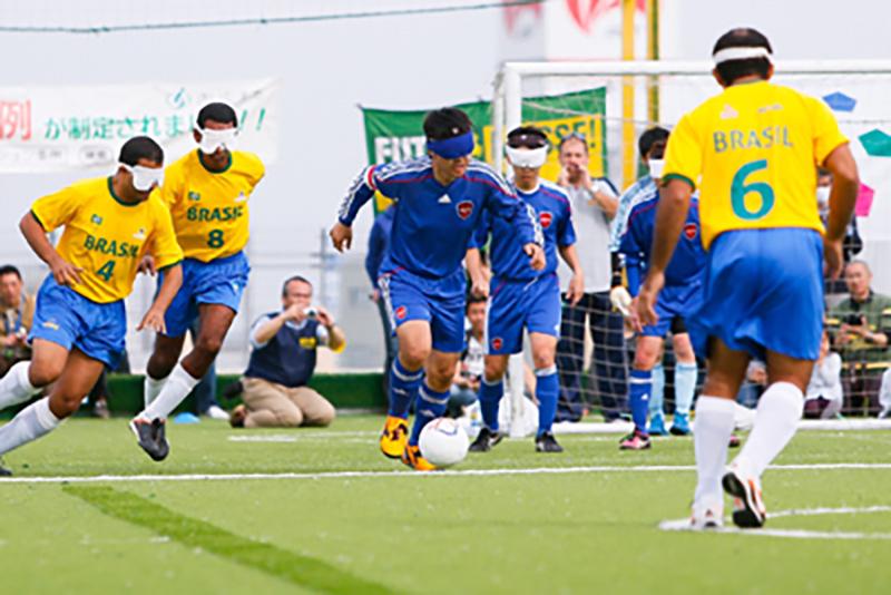 パラリンピック4連覇中、世界最強のブラインドサッカーブラジル代表が来日!