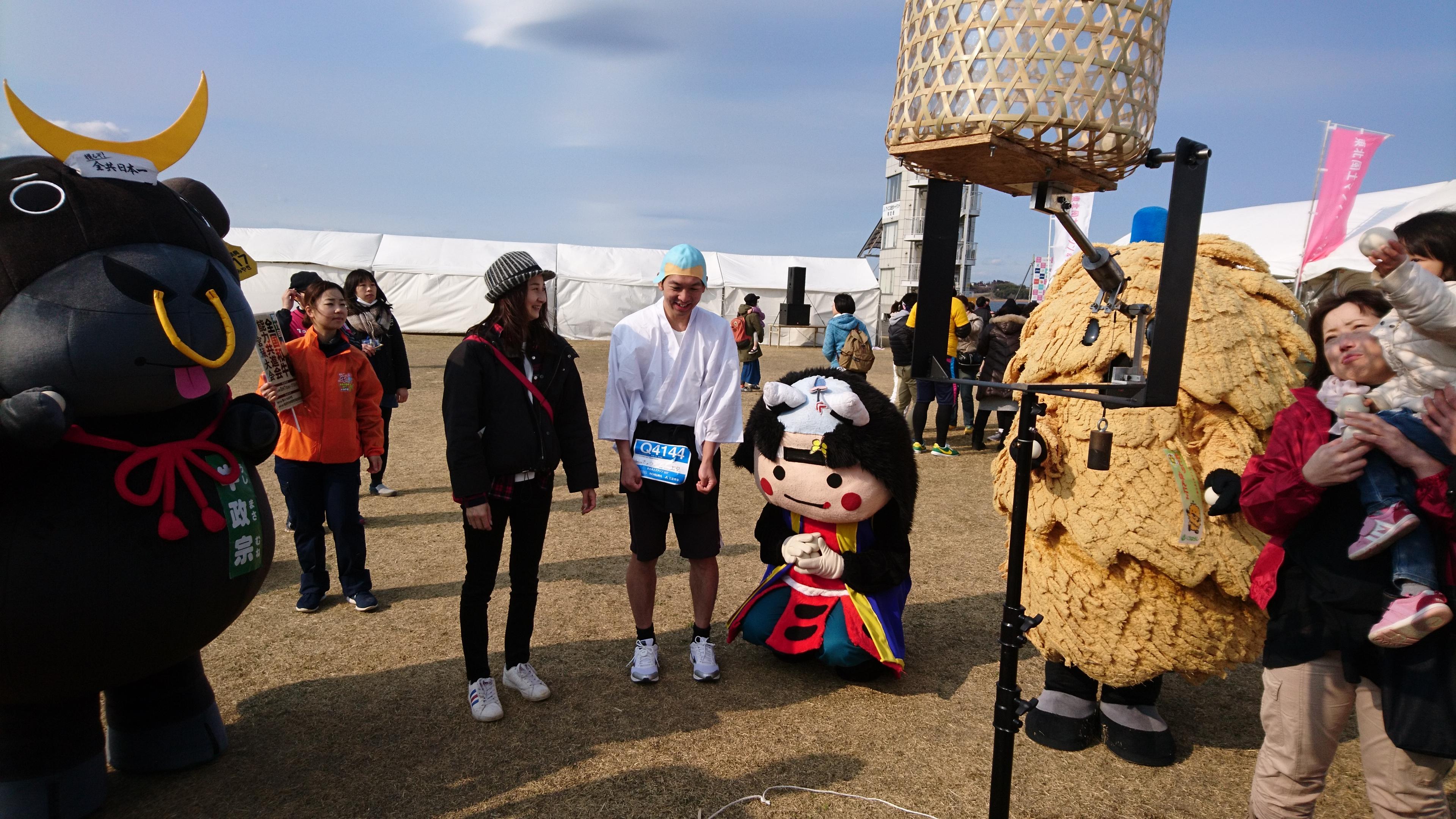 ランナーも応援者も皆が楽しめる「東北風土マラソン&フェスティバル」