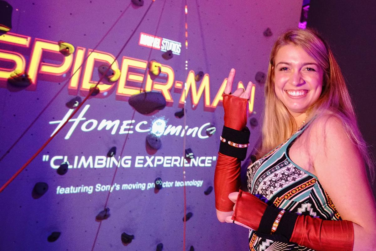 スパイダーマンとクライミング!ソニーの最新体験がSXSWに集結!