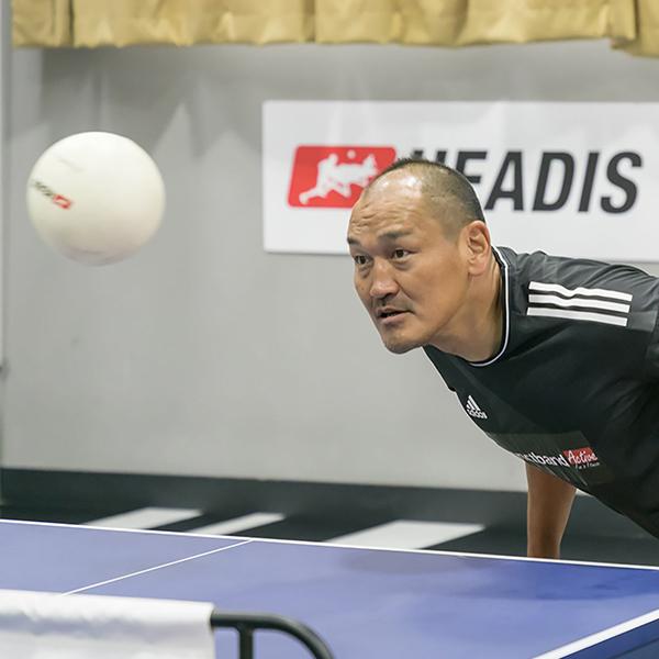 元サッカー日本代表の秋田豊氏PR!サッカー×卓球「ヘディス」の魅力!