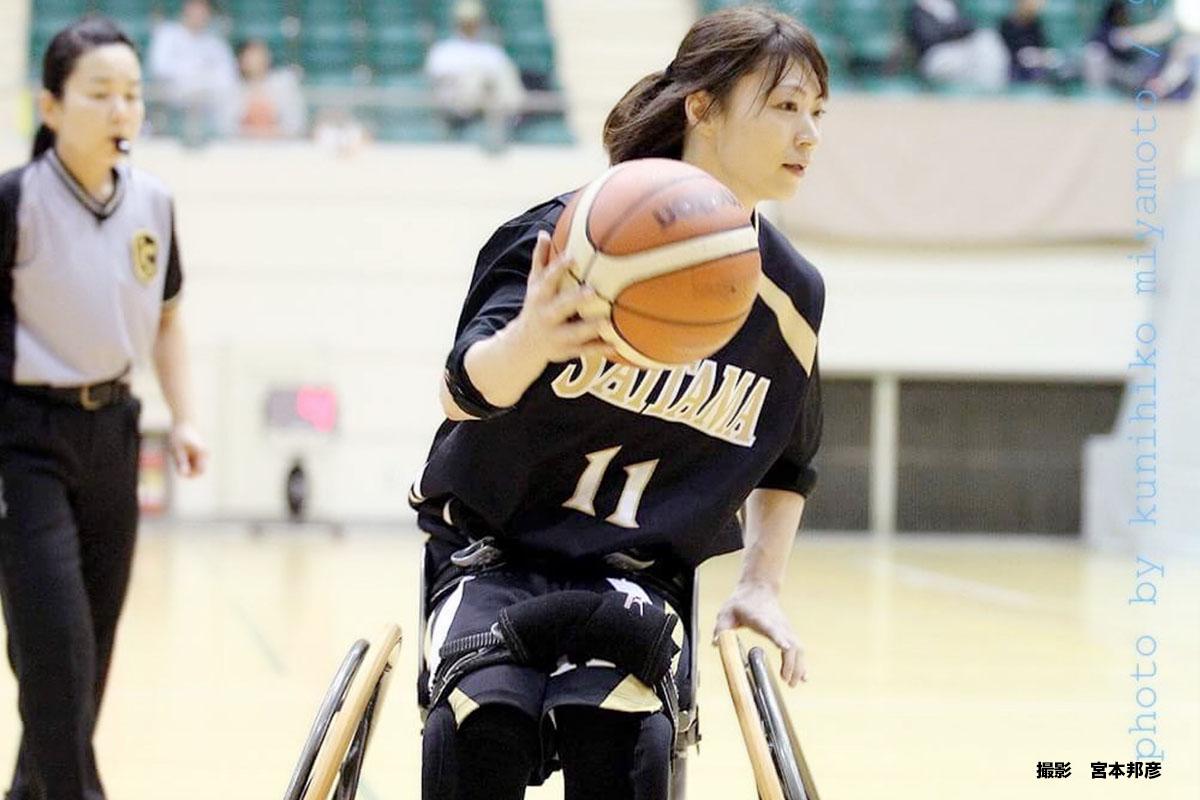 車いすバスケでもっと上へ。土田 真由美選手インタビュー