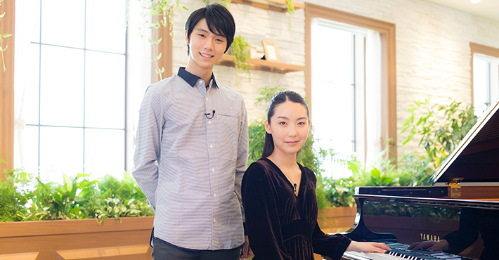 フィギュアスケート羽生結弦×ピアニスト松田華音 それぞれの表現のかたち:前編