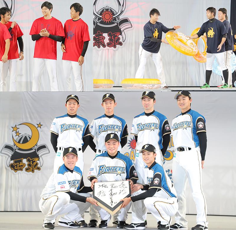 ドラ1「清宮幸太郎」札幌ドーム初登場!  北海道日本ハムファイターズ《ファンフェスティバル2017》開催!