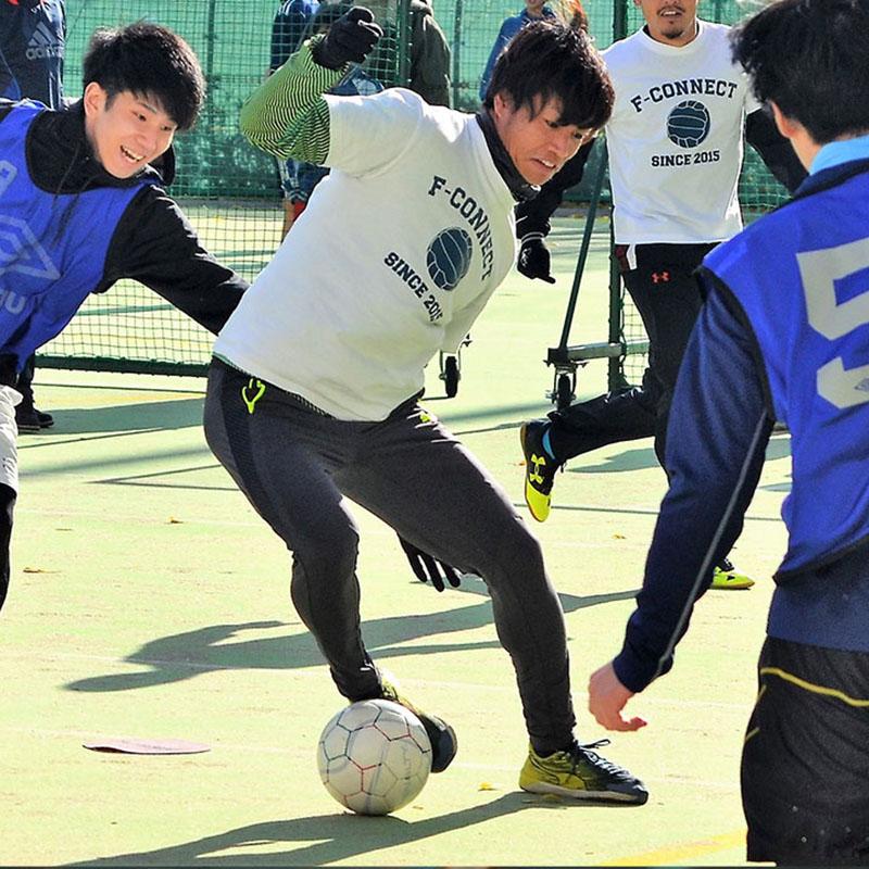 フットボールの力で子どもたちに笑顔を!~現役Jリーガーが立ち上げた「F-connect」が目指すもの