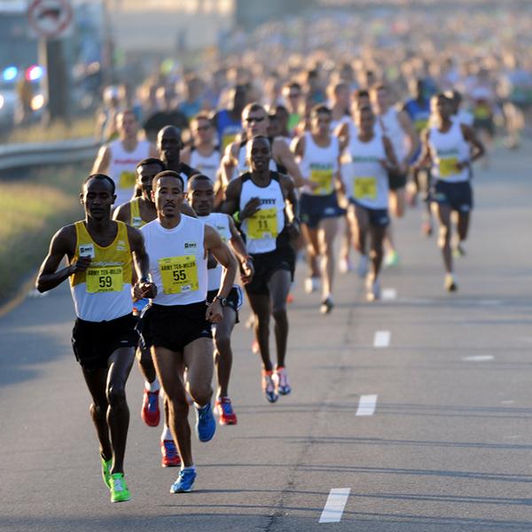 マラソンのパフォーマンスが高まる1週間前からのグリコーゲンローディング