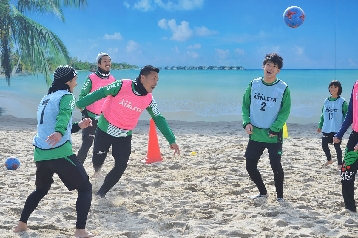 王者・東京ヴェルディBSが伝えるビーチサッカーの魅力