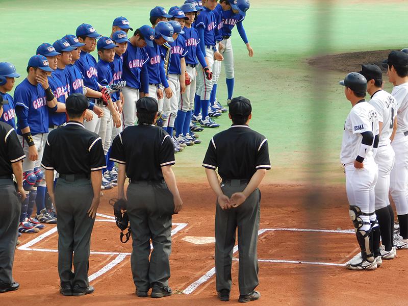 関西地区大学野球春季リーグ、間もなく終了