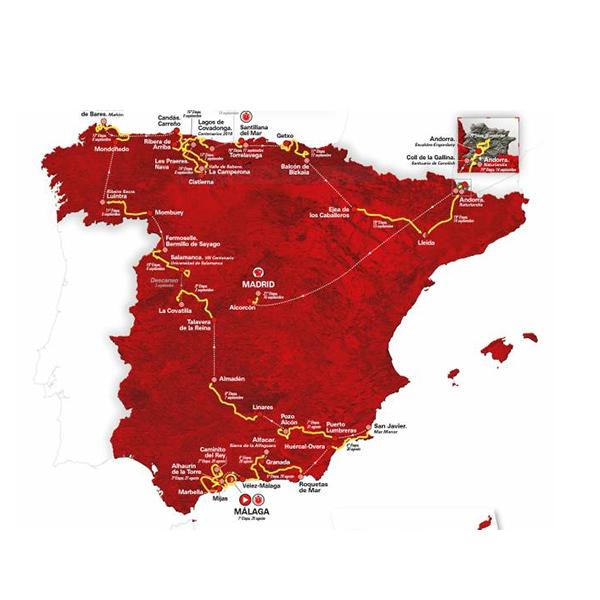 ブエルタ・ア・エスパ―ニャ2018事前解説・優勝のカギを握るステージは