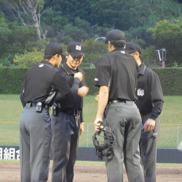 マイナーリーグに初挑戦の日本人審判員