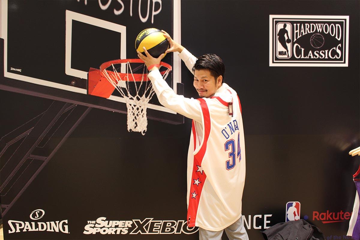 Mitchell & Ness日本初上陸!NBAオーセンティックレプリカブランド