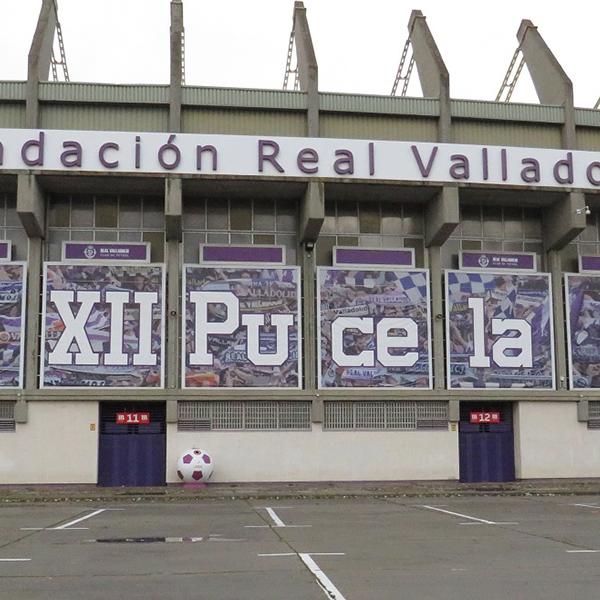 スペインのサッカースタジアムを巡るPART2  Estadio José Zorrilla (Real Valladolid)