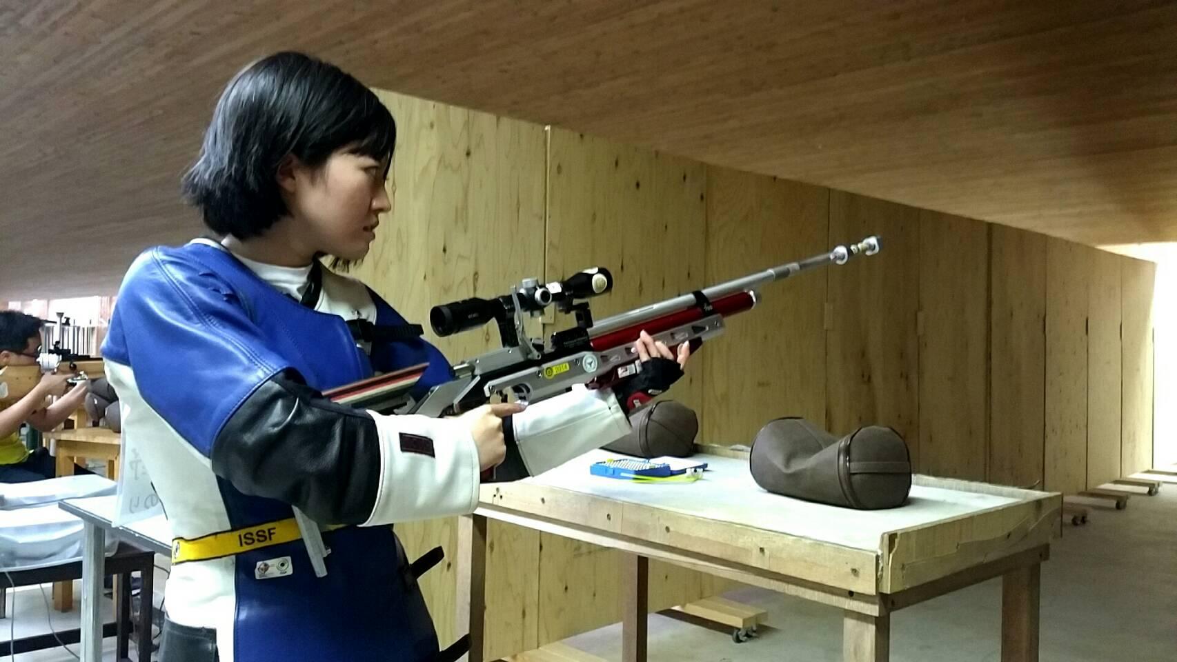 全日本女王・判野みのり選手が語る射撃への熱い想いとは