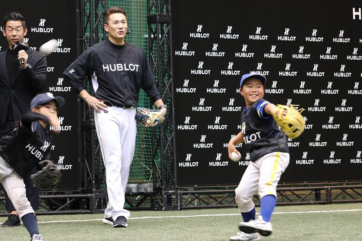 ウブロが主催する北海道支援イベントに、田中将大選手・成田緑夢選手が登場!