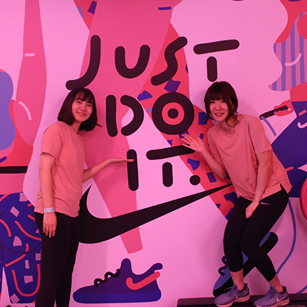 NIKE女性限定イベント「JUST DO IT DAY -GATHER & TRAIN-」