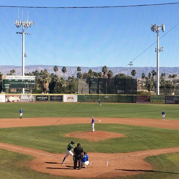 カリフォルニア・ウィンターリーグに挑戦する選手達