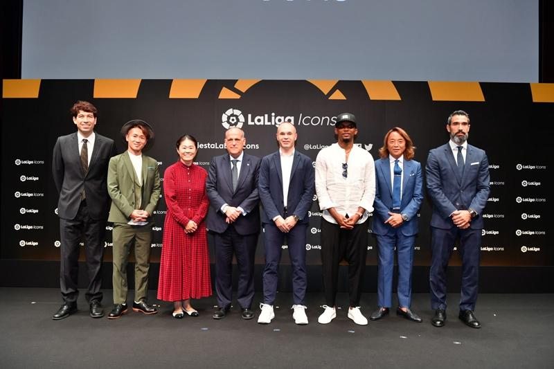 アンドレス・イニエスタ選手 ラ・リーガ公式アイコン就任発表会