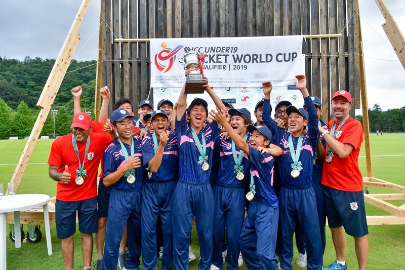 U19クリケット日本代表、初のワールドカップ出場!!祝賀会ではプロ野球から転向の山本武白志が激励