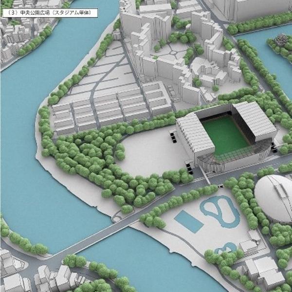 募金活動も開始!広島新サッカースタジアム 開業まであと4年